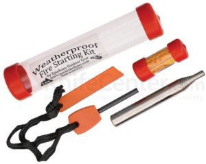 Epiphany Outdoor Weatherproof Fire Starting Kit