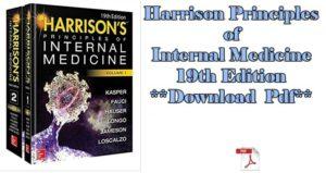 Harrison's principle of internal medicines 19th edition pdf