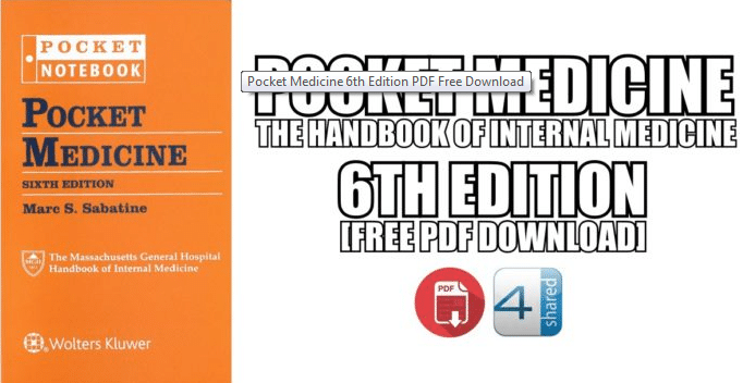 Pocket Medicine 6th edition pdf