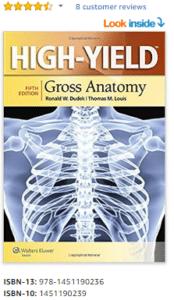 High-Yield Gross Anatomy 5th Edition PDF