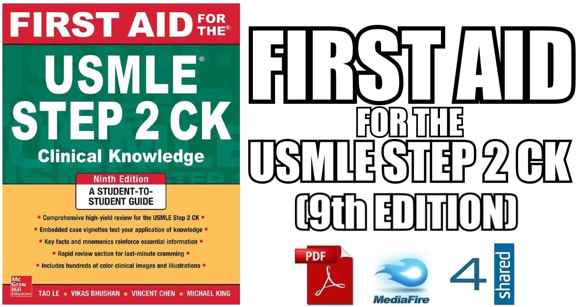 First Aid USMLE Step 2 CS PDF