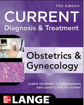Current diagnosis & treatment obstetrics & gynecology, eleventh edition pdf